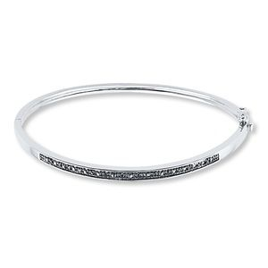 Black Diamond Bracelet - 1/10ct tw